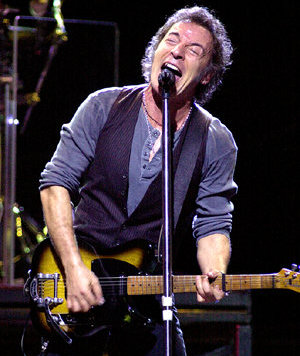 Bruce Springsteen . . . Rockin'