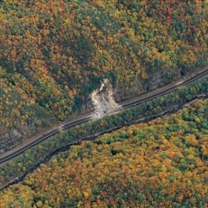Landslide on I-40
