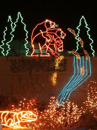Exceptional Christmas Across The Carolinas: Riverbanks Zoo, Columbia, SC